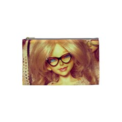 Girls With Glasses Cosmetic Bag (small)