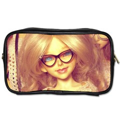 Girls With Glasses Toiletries Bag (two Sides)