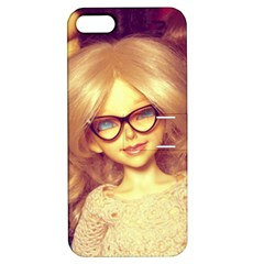 Girls With Glasses Apple Iphone 5 Hardshell Case With Stand