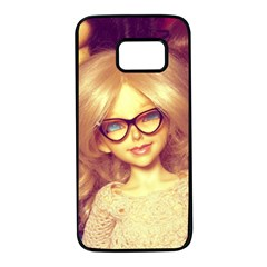 Girls With Glasses Samsung Galaxy S7 Black Seamless Case