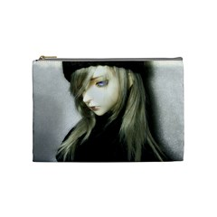 Black Angel Cosmetic Bag (medium)