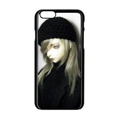 Black Angel Apple Iphone 6/6s Black Enamel Case
