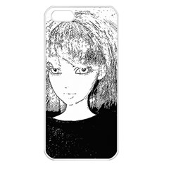 Girl Apple Iphone 5 Seamless Case (white)