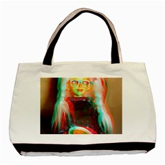 Eating Lunch 3d Basic Tote Bag (two Sides)
