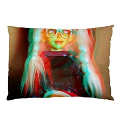 Eating Lunch 3d Pillow Case (two Sides)
