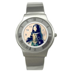 Forest Queen Stainless Steel Watch