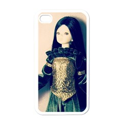 Forest Queen Apple Iphone 4 Case (white)
