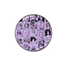 Lilac Yearbook 1 Hat Clip Ball Marker (4 Pack) by snowwhitegirl