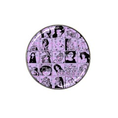 Lilac Yearbook 2 Hat Clip Ball Marker