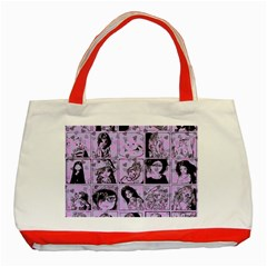 Lilac Yearbook 2 Classic Tote Bag (red)