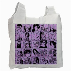 Lilac Yearbook 2 Recycle Bag (one Side)