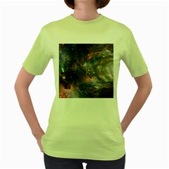 Wormhole 2514312 1920 Women s Green T Shirt