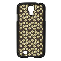 Antique Flowers Brown Samsung Galaxy S4 I9500/ I9505 Case (black)