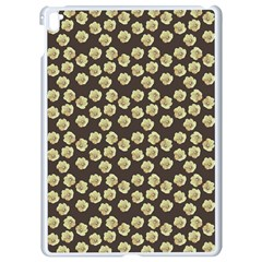 Antique Flowers Brown Apple Ipad Pro 9 7   White Seamless Case