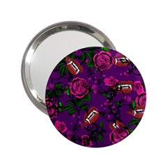 Purple  Rose Vampire 2 25  Handbag Mirrors