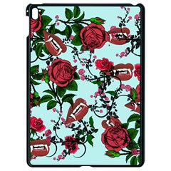 Light Blue Rose Vampire Apple Ipad Pro 9 7   Black Seamless Case by snowwhitegirl