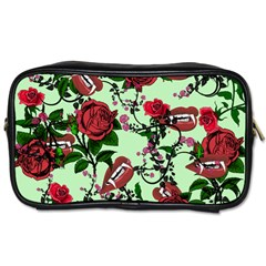 Green Rose Vampire Toiletries Bag (two Sides) by snowwhitegirl