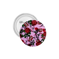 Pink Rose Vampire 1 75  Buttons