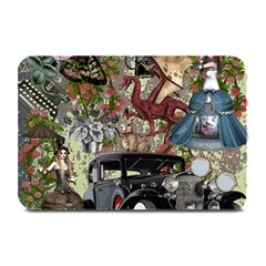 Steampunk Collage Plate Mats
