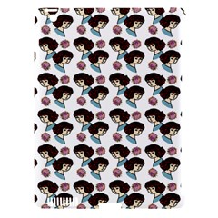 Redhead Girl Pattern Apple Ipad 3/4 Hardshell Case (compatible With Smart Cover)