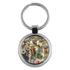 Angel Collage Key Chains (round)  by snowwhitegirl
