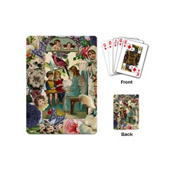 Angel Collage Playing Cards (mini)