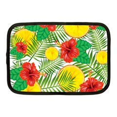Orange Tropics Netbook Case (medium)