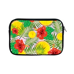 Orange Tropics Pink Apple Ipad Mini Zipper Cases