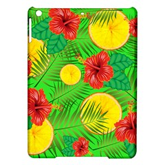 Orange Tropics Green Ipad Air Hardshell Cases by snowwhitegirl
