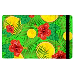 Orange Tropics Green Apple Ipad Pro 9 7   Flip Case