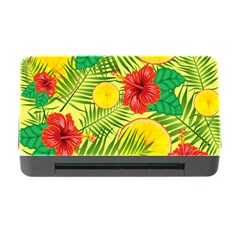 Orange Tropics Yellow Memory Card Reader With Cf by snowwhitegirl