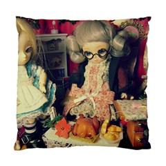 Happy Holidays Standard Cushion Case (one Side)
