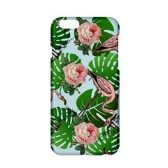 Flamingo Floral Blue Apple Iphone 6/6s Hardshell Case