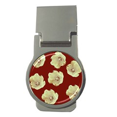 Red Tulips Money Clips (round)