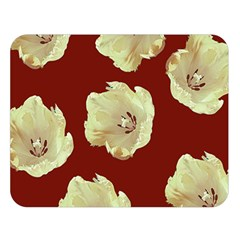Red Tulips Double Sided Flano Blanket (large)