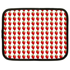 Strawberries Netbook Case (large)