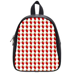 Strawberries School Bag (small)