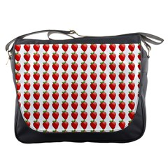 Strawberries Messenger Bag