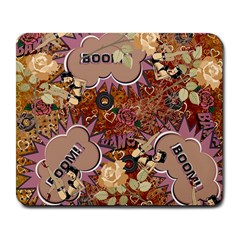 Pinup Floral Large Mousepads