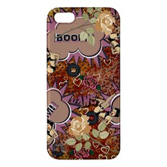 Pinup Floral Iphone 5s/ Se Premium Hardshell Case