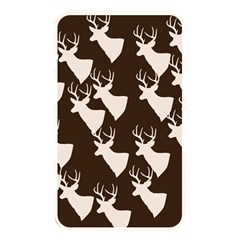 Brown Deer Pattern Memory Card Reader (rectangular)