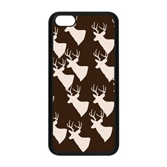 Brown Deer Pattern Apple Iphone 5c Seamless Case (black)