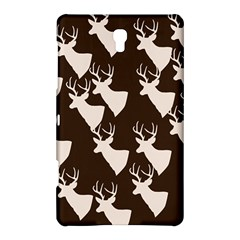 Brown Deer Pattern Samsung Galaxy Tab S (8 4 ) Hardshell Case