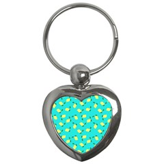 Lemons Blue Key Chains (heart)