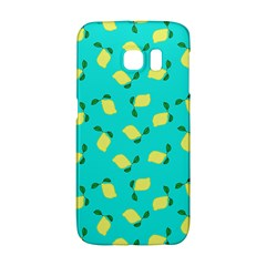 Lemons Blue Samsung Galaxy S6 Edge Hardshell Case
