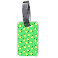 Lemons Green Luggage Tags (two Sides)