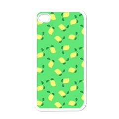 Lemons Green Apple Iphone 4 Case (white)