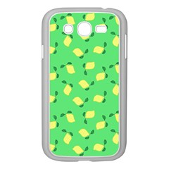 Lemons Green Samsung Galaxy Grand Duos I9082 Case (white)
