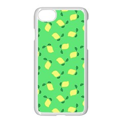 Lemons Green Apple Iphone 7 Seamless Case (white)