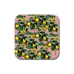 Fruit Branches Rubber Coaster (square)